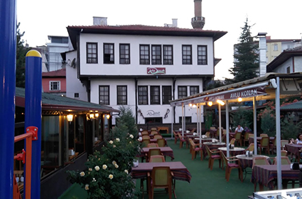 Avlu Konak Cafe Restoran / ÇANKIRI