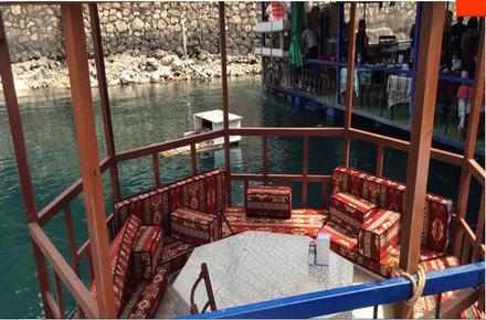 Halfeti Başkanın Yeri Duba Restaurant / ŞANLIURFA