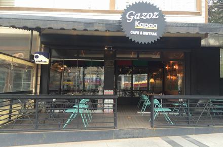 Gazoz kapağı Cafe Restaurant / GAZİANTEP