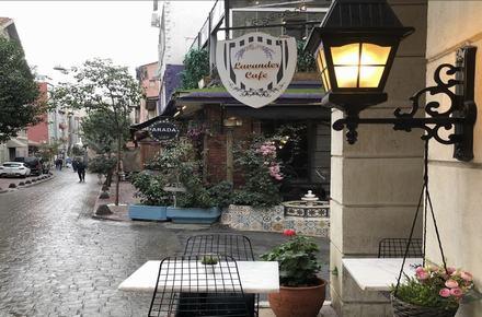 Lavender cafe / Beyoğlu / İSTANBUL