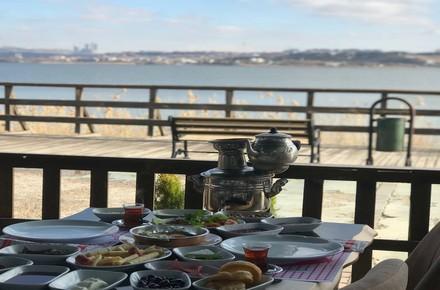 Kervansaray CAFE Mogan GÖLÜ(Karadeniz sofrası)