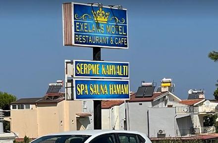 Exelans Motel Restaurant & Cafe / Kuşadası / AYDIN